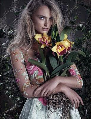 vestido estampa floral Patrícia Bonaldi coleção verão 2015
