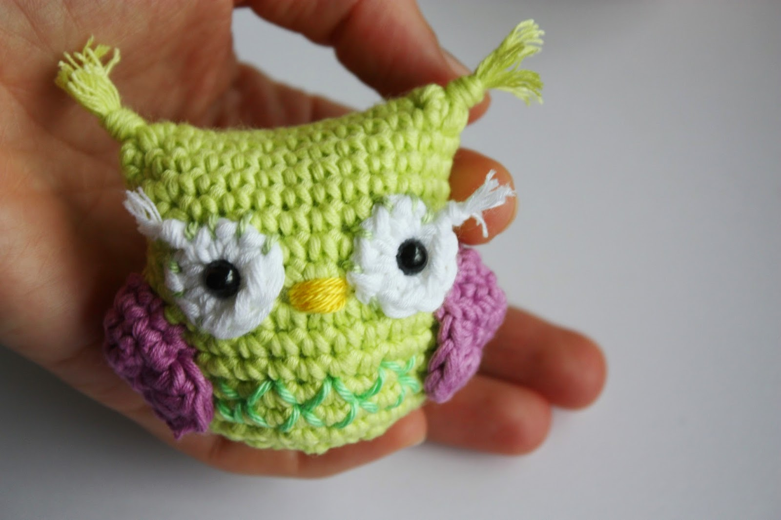 New: Amigurumi Owl Pattern in process - Free Amigurumi Pattern