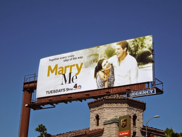 Marry Me series premiere billboard