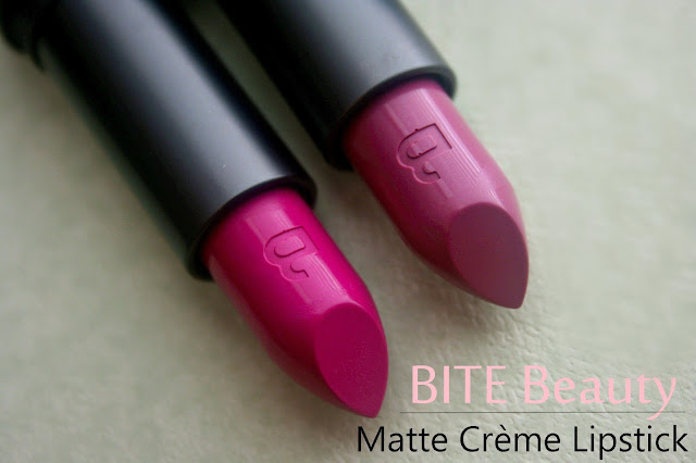 BITE Beauty Pastille Matte Crème Lipstick Review Photos & Swatches