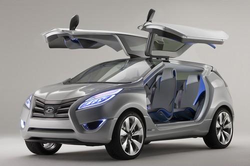Komisch 2015 Hyundai Nuvis Concept Wallpapers
