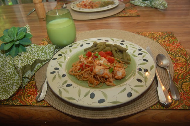 Cindyshealthymeals tilapia pasta Better homes and gardens tonight