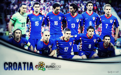 Croatia Squad On Euro 2012 Wallpaper