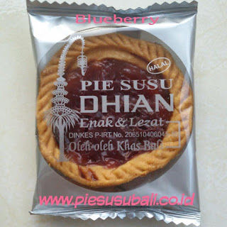pie susu dhian rasa blueberry