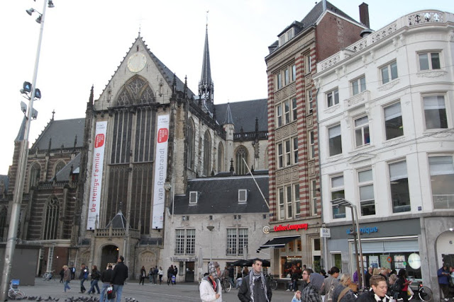 New Church or Nieuwe Kerk in Amsterdam, Netherlands