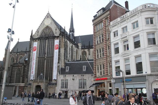 New Church or Nieuwe Kerk in Amsterdam, Netherlands
