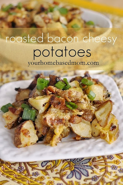 roasted bacon cheesy potatoes