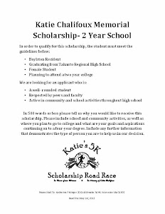 Two Year Scholarship Application