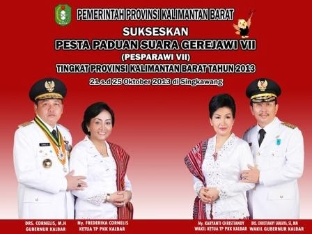 Gubernur dan Wakil Gubernur Provinsi Kalimantan Barat