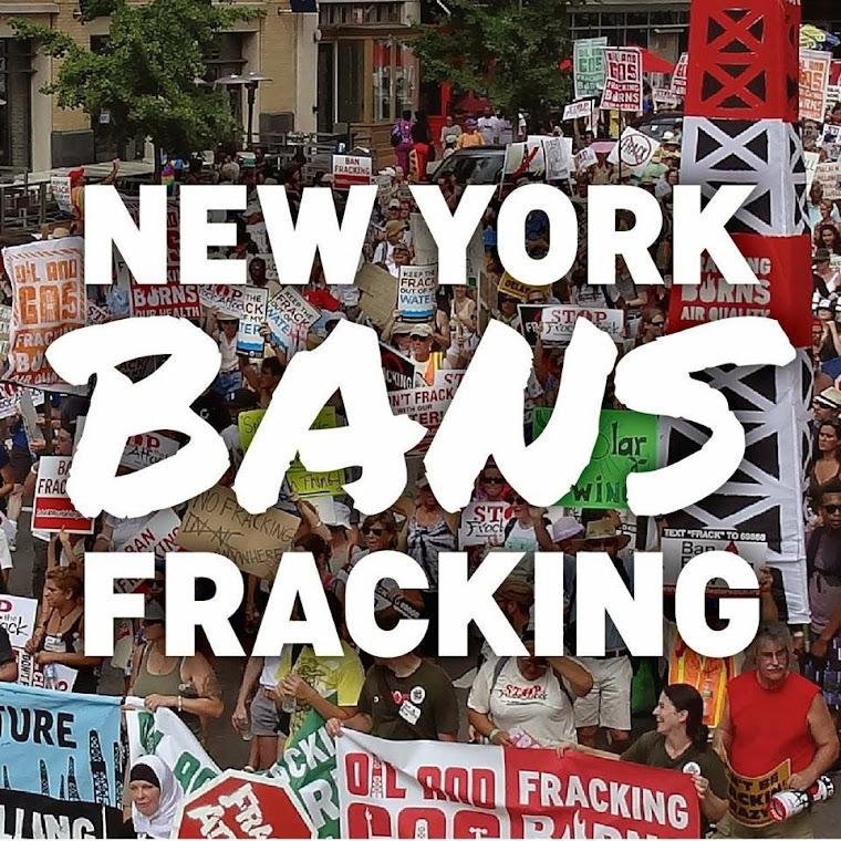 New York Bans Fracking