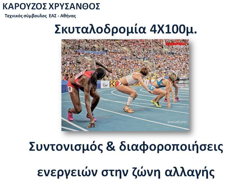 ΠΡΟΠΟΝΗΤΙΚΟ CAMP 4Χ100