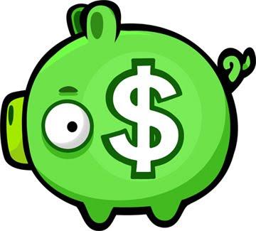 angry-birds-pig-dinheiro Rovio responde críticas de propagandas em Angry Birds