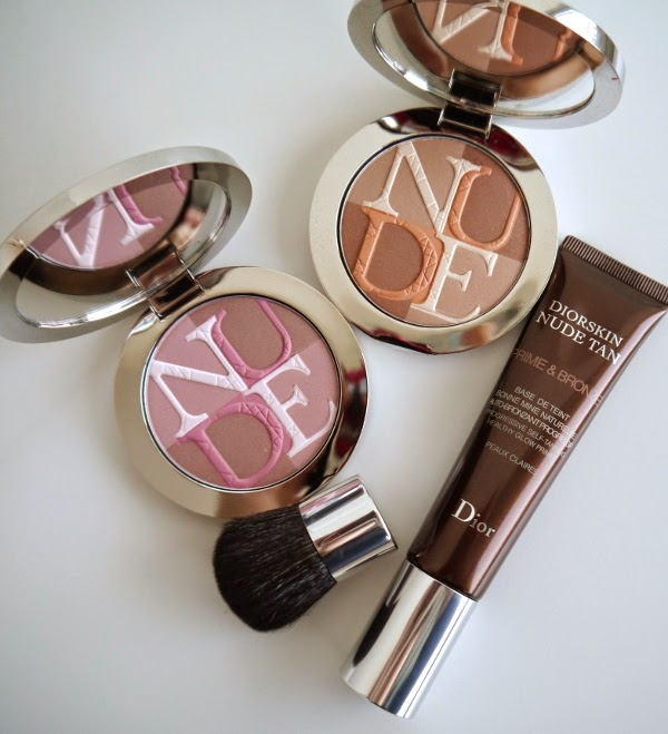 Dior Transat Collection Diorskin Nude Shimmer and Diorskin Nude Tan Prime & Bronze
