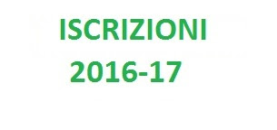 Iscrizioni 2016-2017