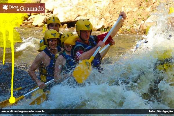 Rafting em Três Canoas/RS