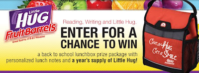 Little Hug Fruit Barrels- Back to School Sweepstakes