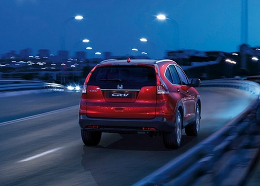 Honda CRV: With the 1.6-liter i-DTEC under the hood