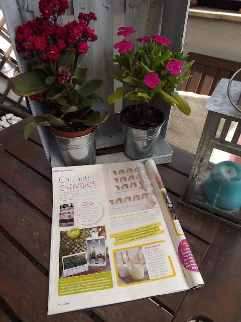 Un vergel en la ciudad mi foto en la revista casa diez for Casa diez decoracion