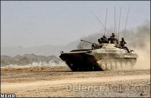 Fuerzas Armadas de Iran Iranian_Boragh_In_Action