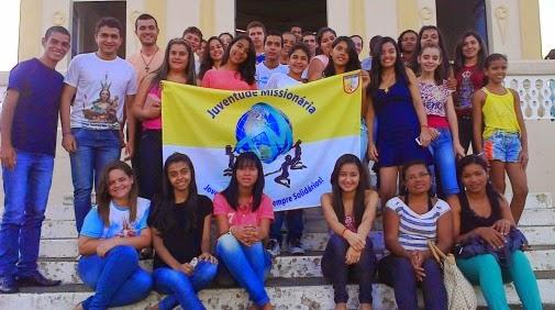 Juventude Missionária agora em Tanque Darca (AL)