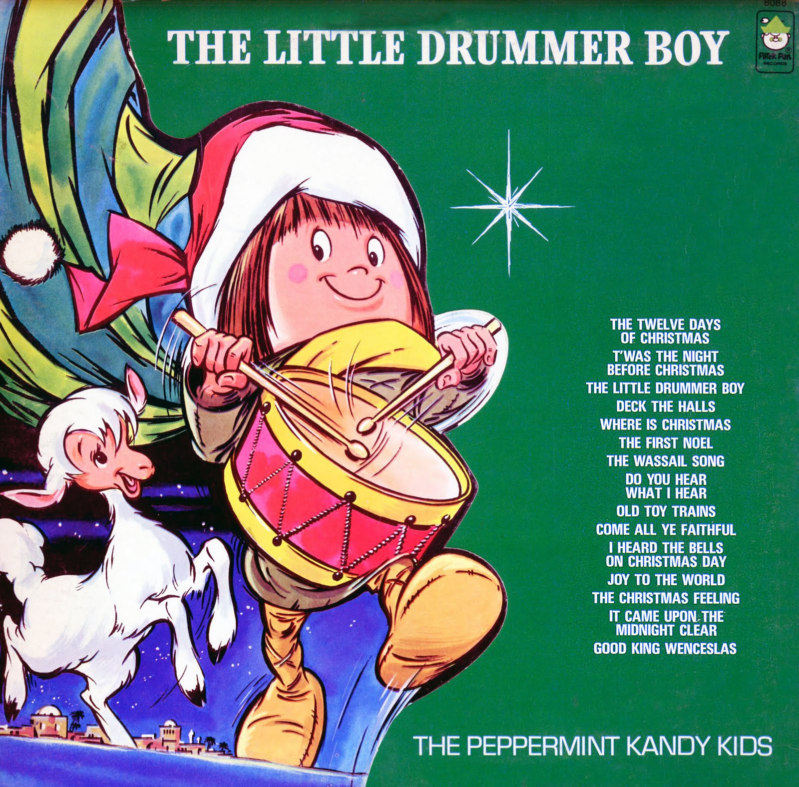 Peppermint Kandy Kids Peter Pan Records Unforgettable