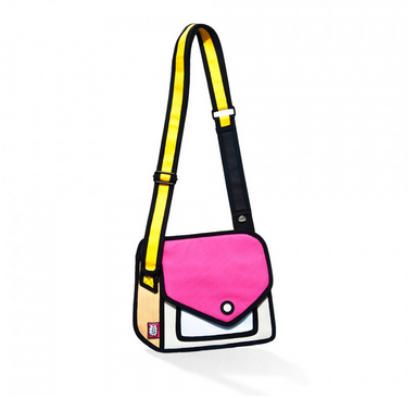 Cartoon Handbag JumpFromPaper 2D Fashion