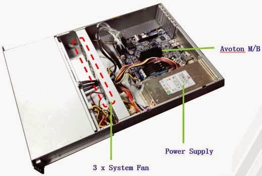 GIADA S200 G1 Microserver