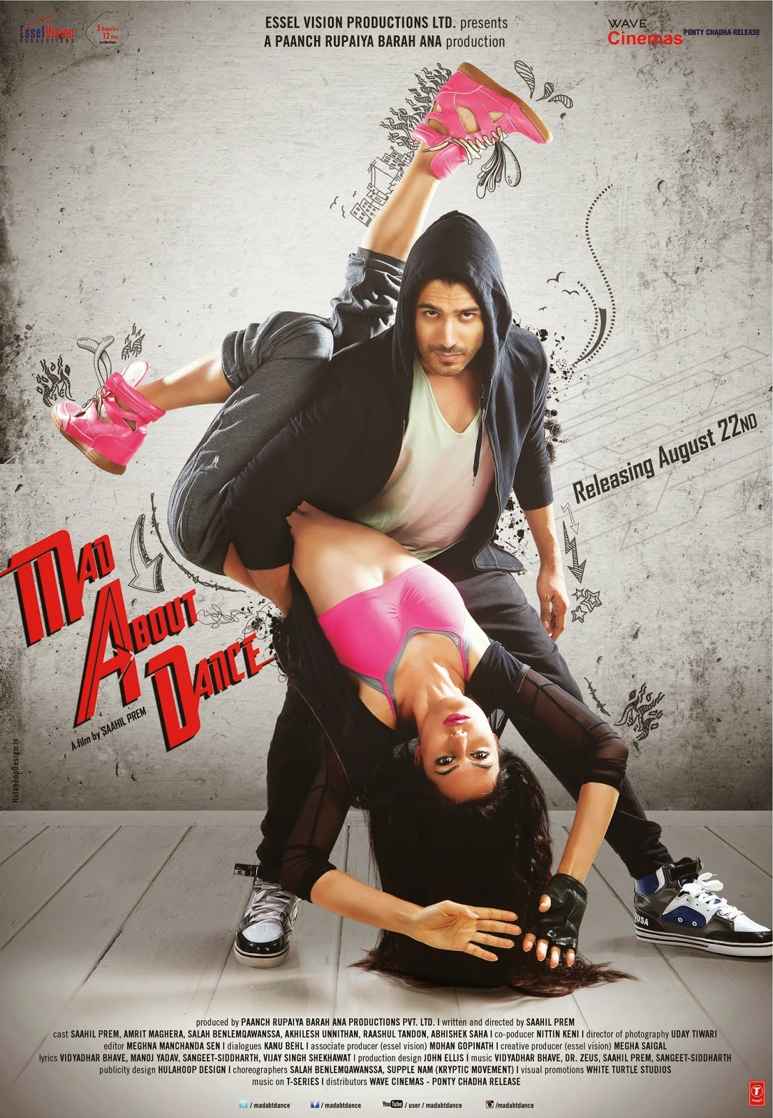 Watch Mad About Dance (2014) DVDScr Hindi Full Movie Watch Online Free Download