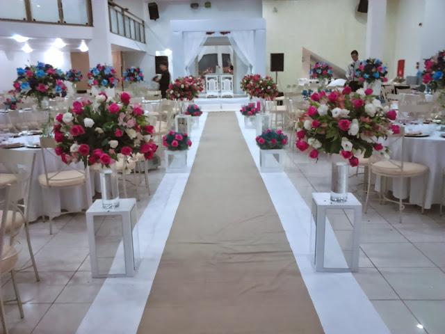 Noivas de Palmas Promoção em decoração completa com rosas por