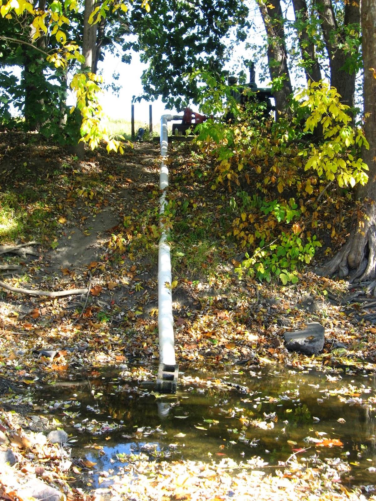 water pump line