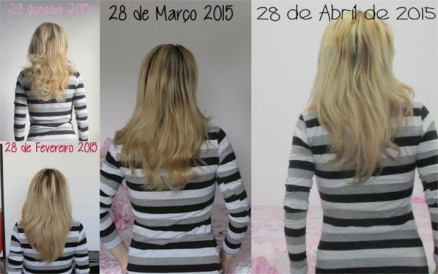 Crescimento acelerado dos cabelos