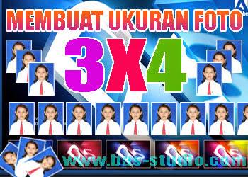 Cara Membuat Ukuran Foto 3X4 Dengan Photoshop