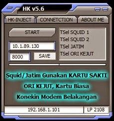 Inject Telkomsel HK v5.6 terbaru