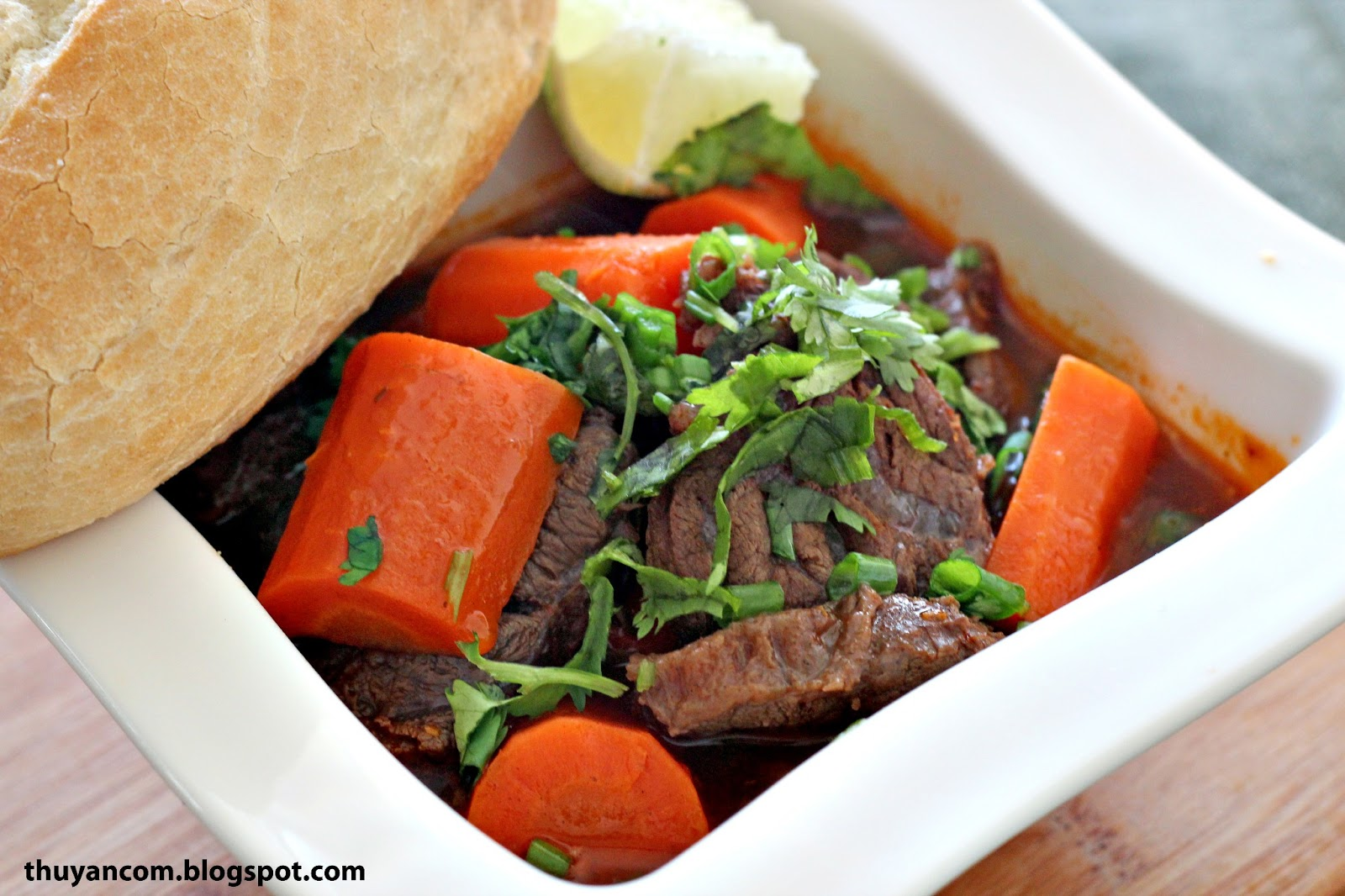 Blog of Salt: Bo Kho - Vietnamese Beef Stew