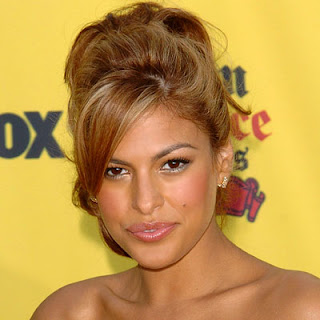 Eva Mendes Celebrity Hairstyle Ideas for black women