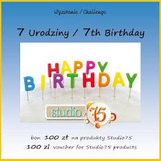 Czerwcowe wyzwanie urodzinowe w Studio75