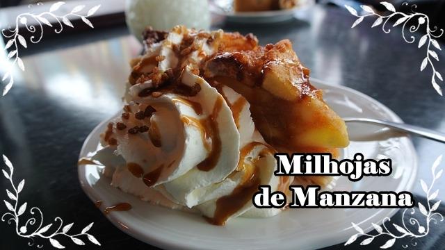 """Pastel de Manzana """"Milhojas"""""""