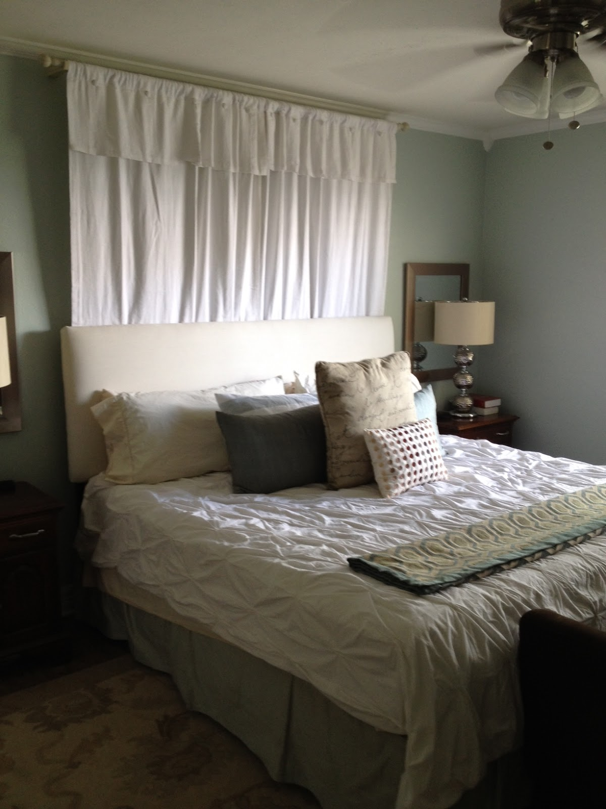 the happy homebodies master bedroom new wall color