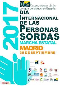 Día Internacional de las Personas Sordas en Madrid