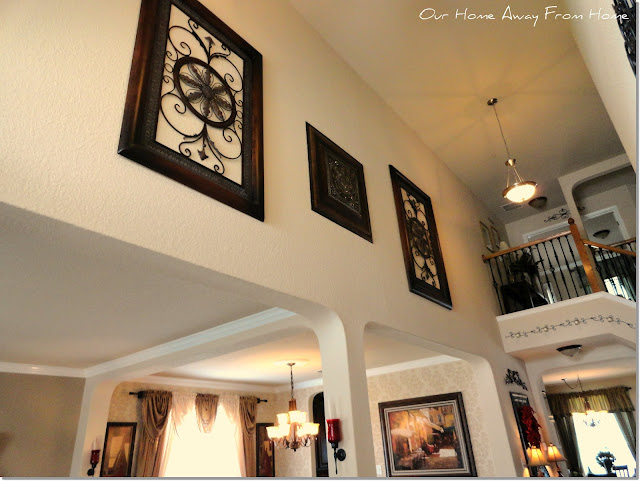 Two Story Foyer Wall Decorating Ideas : Our home away from tour part