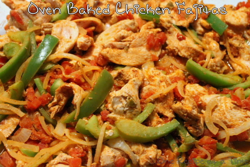 Learning the Ropes...One Recipe at a Time: Baked Chicken Fajitas