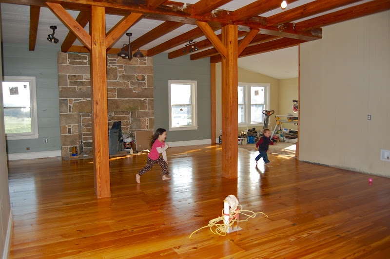 After finishing the floors. I've never seen the kids so excited! title=