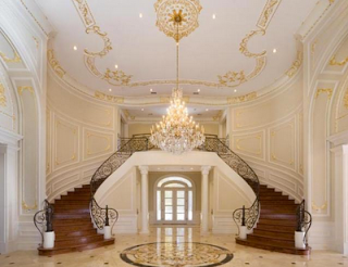 home interior designs mansion house staircase