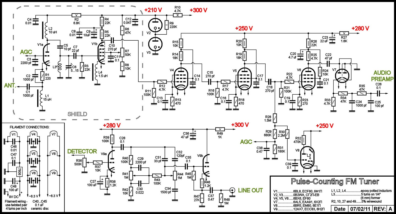 Question 6890 furthermore Transmitter moreover Portable Audio Power  lifier furthermore Am Fm Radio Build Kits besides FoxLogo05mistygreensmall. on am fm tube radio schematic