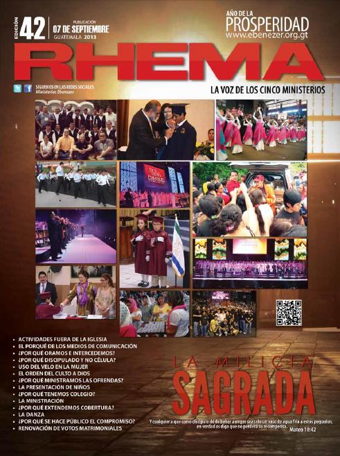 Revista Rhema septiembre 2013