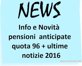 pensioni-quota-96-ultime-notizie