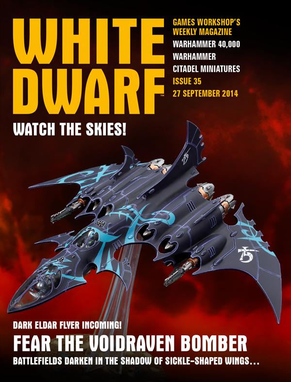 White Dwarf Weekly número 35 de septiembre