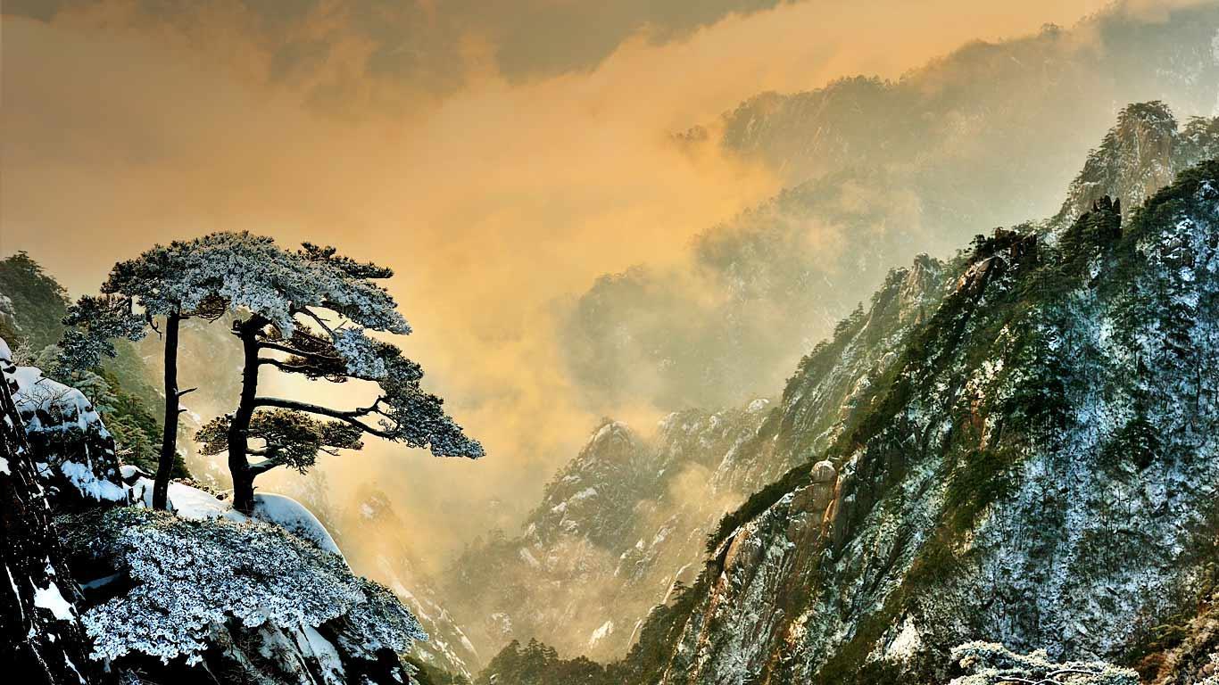 [L5R] A Ilha Kushima Huangshan_winter_China_20121102