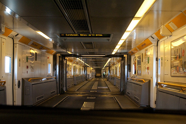 Channel Tunnel (Between England and France)