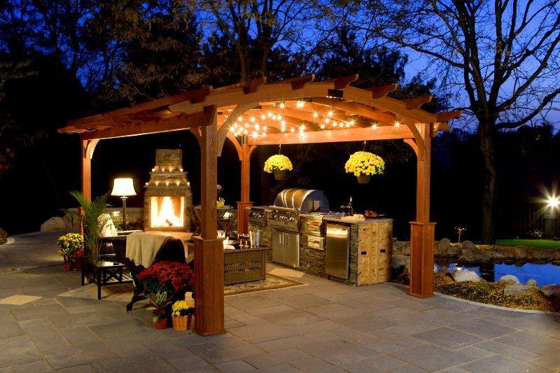 Abril 2013 patios y jardines for Cocinas para patios